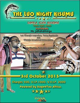 luo night kisumu