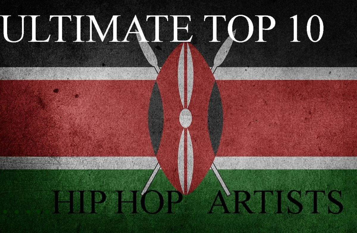 The Ultimate Top 10 Kenyan Hip Hop Musicians Of 2018