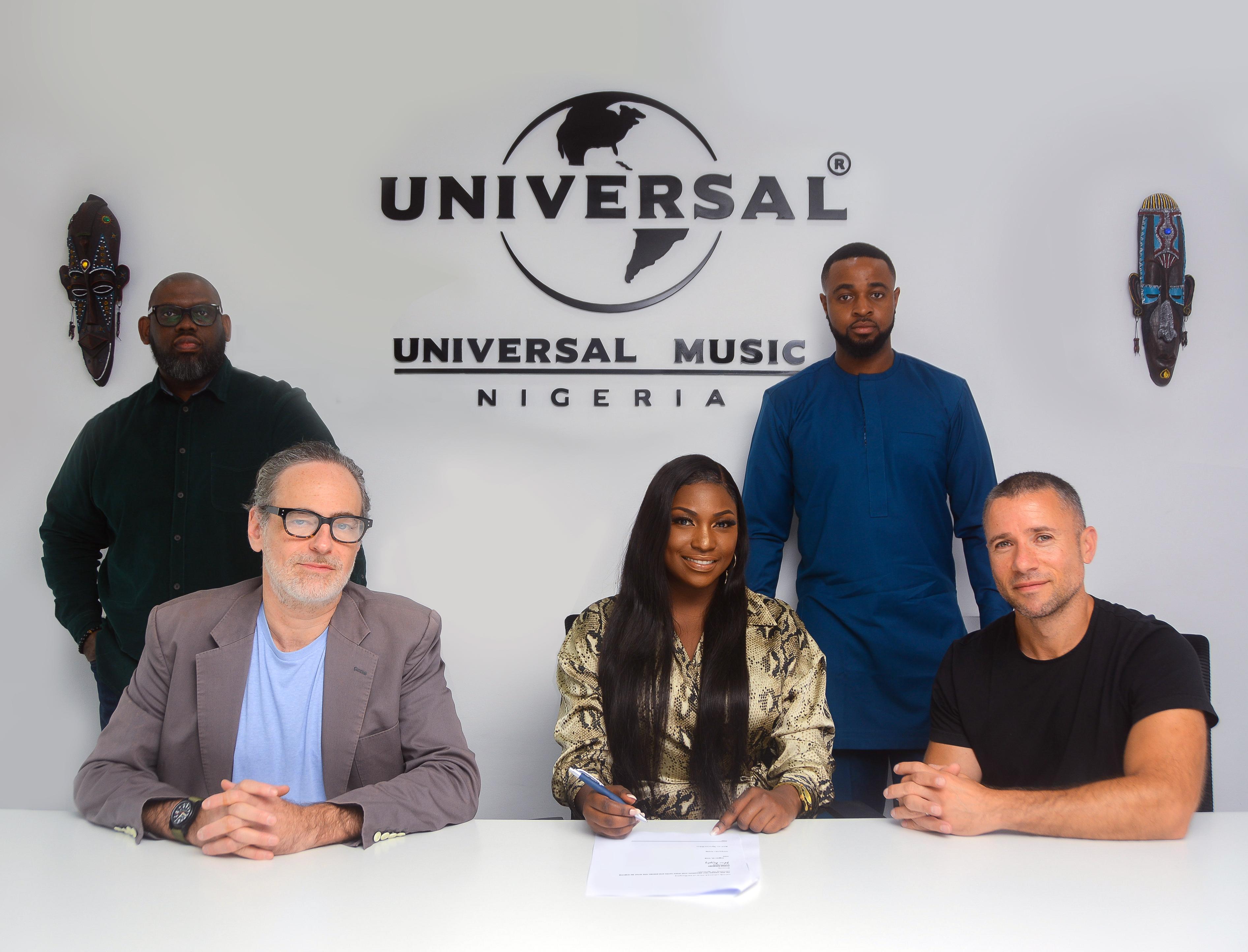 "Irene Ntalé signs to Universal Music Group, shares new single ""Nyamba"""